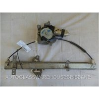NISSAN NAVARA D22 - 4DR UTE 4/1997>CURRENT - DRIVERS - RIGHT SIDE FRONT WINDOW REGULATOR - ELECTRIC