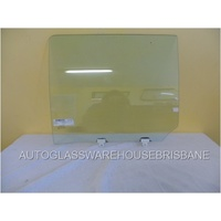 HOLDEN COLORADO 7 RG - 12/2012 to CURRENT - 4DR WAGON - PASSENGER - LEFT SIDE REAR DOOR GLASS (WITH FITTING) (570mm wide)