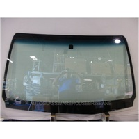 TOYOTA HILUX GGN126-TGN126 - 7/2015 to CURRENT - UTE - FRONT WINDSCREEN GLASS - NEW - MIRROR BUTTON - ANTENNA
