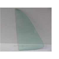 FORD FALCON XC - 1976 to 1979 - 4DR SEDAN - PASSENGERS - LEFT SIDE REAR QUARTER GLASS - GREEN