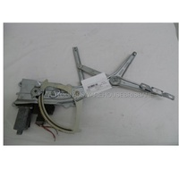 HOLDEN ASTRA AH - 9/2004 to 8/2009 - 5DR HATCH - LEFT SIDE FRONT WINDOW REGULATOR - ELECTRIC
