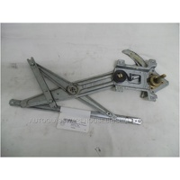 HOLDEN RODEO RA - 12/2002 to 7/2008 - UTE - PASSENGERS - LEFT SIDE FRONT WINDOW REGULATOR - MANUAL