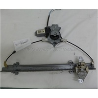 NISSAN PULSAR N16 - 7/2000 to 4/2004 - 4DR SEDAN - DRIVERS - RIGHT SIDE FRONT WINDOW REGULATOR - ELECTRIC
