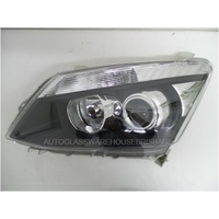 ISUZU D-MAX - 7/2012 to CURRENT - UTILITY  - PASSENGER - LEFT SIDE HEADLIGHT - PROJECTOR - CP REFLECTOR - NEW