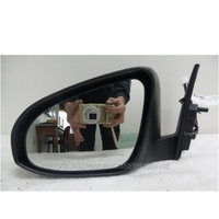 TOYOTA CAMRY ASV50R - 10/2011 TO 10/2017 - 4DR SEDAN - PASSENGERS - LEFT SIDE MIRROR - COMPLETE - BLACK