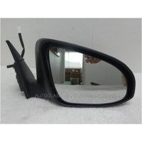 TOYOTA CAMRY ASV50R - 10/2011 TO 10/2017 - 4DR SEDAN - DRIVERS - RIGHT SIDE MIRROR - COMPLETE - BLACK