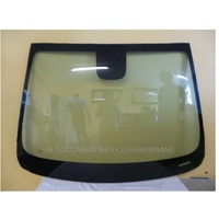 HOLDEN TRAXX TJ - 09/2013 to CURRENT - 4DR WAGON - FRONT WINDSCREEN GLASS - RAIN SENSOR LENS, MIRROR BUTTON, PLASTIC HOLDER, TOP & SIDE MOULD