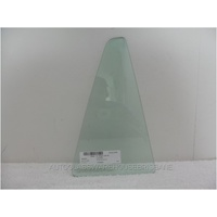 MAZDA 6 GJ - 12/2012 to CURRENT - 4DR WAGON - RIGHT SIDE REAR QUARTER GLASS - GREEN