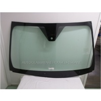 FORD FALCON FG - 2008 TO CURRENT - UTE/SEDAN - FRONT WINDSCREEN GLASS - RAIN SENSOR BRACKET, MIRROR BUTTON, TOP, SIDE MOULD, RETAINER