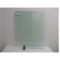 IVECO EUROCARGO 2000 ML75/180 - 11/1998 to 2004 - TRUCK - DRIVERS- RIGHT SIDE FRONT DOOR GLASS - ONE HOLE