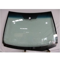 TOYOTA COROLLA ZRE172R - 12/2013 to CURRENT - 4DR SEDAN - FRONT WINDSCREEN GLASS - MIRROR BUTTON,TOP&SIDE MOULD