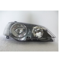 FORD FALCON BA-BF - 10/2002 TO 2/2008 - 4DR SEDAN - DRIVERS - RIGHT SIDE HEADLIGHT - BLACK