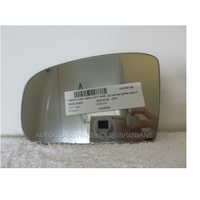 MERCEDES S CLASS W220 - 4/1999 to 4/2006 - 4DR SEDAN - LEFT SIDE MIRROR - FLAT GLASS ONLY