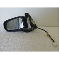 FORD LASER KN/KQ - 2/1999 to 9/2002 - 4DR SEDAN - LEFT SIDE MIRROR - ELECTRIC - WHITE - E13-010089