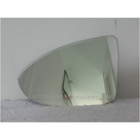 VOLKSWAGEN GOLF VII - 4/2013 TO CURRENT - 5DR HATCH - PASSENGERS - LEFT SIDE MIRROR - FLAT GLASS ONLY - 160MM X 109MM HIGH
