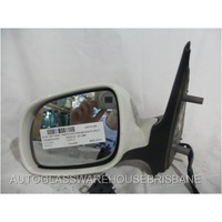 VOLKSWAGEN POLO 6N/S3 - 5DR HATCH 9/2000>7/2002 - PASSENGER - LEFT SIDE MIRROR - WHITE - ELECTRIC - COMPLETE - E1 010515