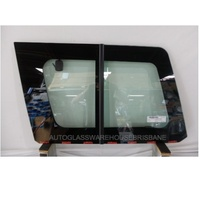 NISSAN PATROL GU - 11/1997 to CURRENT - 4DR WAGON - LEFT SIDE REAR SLIDING GLASS - **SLIDER OPENS 160MM** (MADE-TO-ORDER)