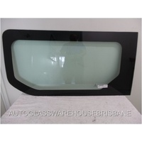 RENAULT TRAFFIC X82 -1/2015 to Current - SWB/LWB - LEFT SIDE FRONT SLIDING DOOR - FIXED WINDOW  BONDED - NEW