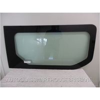 RENAULT TRAFFIC X82 -1/2015 to Current - SWB/LWB - RIGHT SIDE FRONT SLIDING DOOR - FIXED WINDOW  BONDED - NEW