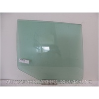 SAAB 9-5 - 11/1997 to 12/2009 - 4DR SEDAN - DRIVER - RIGHT SIDE REAR DOOR GLASS
