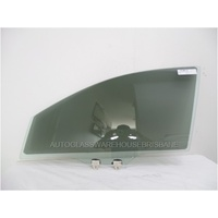 MAZDA 2 DJ - 8/2014 TO CURRENT - SEDAN/HATCH - LEFT SIDE FRONT DOOR GLASS - GREEN