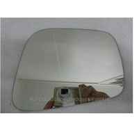 NISSAN NAVARA D40 - 12/2005 to 03/2015 - UTE - RIGHT SIDE MIRROR - FLAT GLASS ONLY - NEW - 235 x 160h- only suits AMPAS 8699-E4-022676