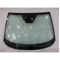 MAZDA 2 DJ - 8/2014 TO CURRENT - SEDAN/HATCH - FRONT WINDSCREEN GLASS (RAIN SENSOR+CITY BRAKE SUPPORT SYSTEM)