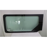RENAULT MASTER X62 - 9/2011 to CURRENT - MWB/LWB VAN - LEFT SIDE FRONT SLIDING WINDOW GLASS - GREY