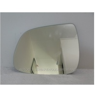 AUDI Q5 8R - 3/2009 to CURRENT - 4DR SUV - LEFT SIDE MIRROR - FLAT GLASS ONLY - 180w X 150h - NEW