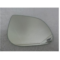 HYUNDAI i20 PB - 7/2010 to 10/2015 - HATCH - RIGHT SIDE MIRROR - FLAT GLASS ONLY - 150mm WIDE  X 115mm TALL - NEW