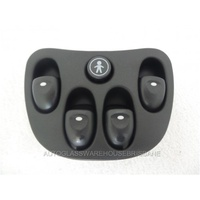HOLDEN COMMODORE VT/VX/VY/VZ - 9/1997 to 7/2006 - SEDAN/WAGON - POWER WINDOW SWITCH