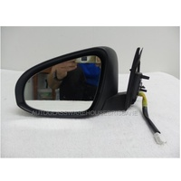 TOYOTA CAMRY ASV50R - 2011 TO CURRENT - 4DR SEDAN - LEFT SIDE MIRROR - WITH INDICATOR - NO BACK COVER