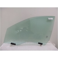 JEEP CHEROKEE KL - 5/2014 to CURRENT - 4DR WAGON - PASSENGERS - LEFT SIDE FRONT DOOR GLASS - GREEN