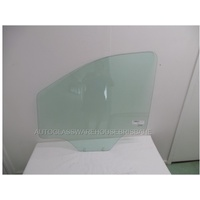 LDV G10 VAN/MPV VAN - 04/2015 ONWARDS - LEFT SIDE FRONT DOOR GLASS (2 HOLES) - NEW - GREEN
