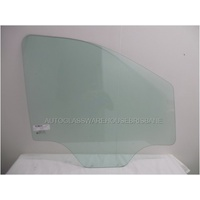 LDV G10 VAN/MPV VAN - 04/2015 ONWARDS - RIGHT SIDE FRONT DOOR GLASS (2 HOLES) - NEW - GREEN