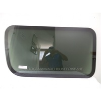 LDV V80 VAN - 4/2013 > ONWARDS - RIGHT SIDE REAR FIXED BONDED WINDOW GLASS - NEW
