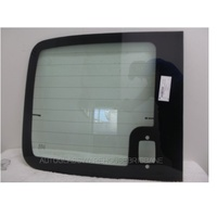 LDV V80 2/2013 to CURRENT - VAN - LEFT SIDE BARN DOOR GLASS - HEATED, LOW ROOF - GREEN