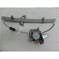 NISSAN MICRA K12 - 8/2007 to 10/2010 - HATCH - LEFT SIDE FRONT DOOR REGULATOR - ELECTRIC
