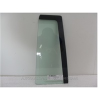 JEEP COMPASS MK - 03/2007 to 3/2010 - 4DR WAGON - LEFT SIDE REAR QUARTER GLASS - NEW - GREEN
