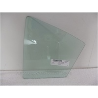 SUBARU IMPREZA G4 - 2/2012 to CURRENT - 4DR SEDAN - LEFT SIDE REAR QUARTER GLASS - NEW - GREEN