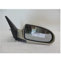 HYUNDAI ELANTRA HD - 8/2006 to 5/2011 - 4DR SEDAN - RIGHT SIDE MIRROR - CHAMPAGNE
