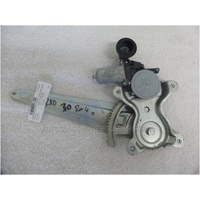 TOYOTA RAV4 30 SERIES - 1/2006 to 2/2013 - 5DR WAGON - DRIVERS - RIGHT SIDE REAR WINDOW REGULATOR - ELECTRIC