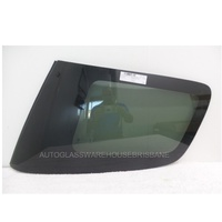 ISUZU MU-X 4WD - 11/2013  TO CURRENT - 4DR SUV - DRIVERS - RIGHT SIDE REAR CARGO GLASS - GREEN