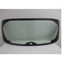 NISSAN JUKE F15 - 12/2012 to CURRENT - 4DR SUV - REAR WINDSCREEN GLASS - HEATED,1 HOLE,TONG MARK - GREEN