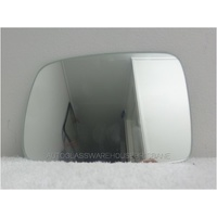 LAND ROVER FREELANDER 2 - 6/2007 to CURRENT - 4DR HARDTOP - LEFT SIDE MIRROR - FLAT GLASS ONLY - 135mm HIGH X 185mm WIDE - SUIT BACKING 3301-001