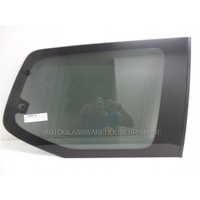 TOYOTA PRADO 120 SERIES - 2/2003 to 10/2009 - 5DR WAGON - DRIVERS - RIGHT SIDE CARGO FLIPPER GLASS - PRIVACY GREY