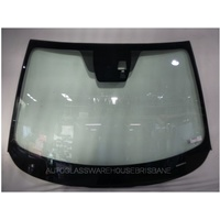 MAZDA 2 DJ - 8/2014 > CURRENT - 4DR SEDAN/5DR HATCH - FRONT WINDSCREEN GLASS (COVER PLATE,CAMERA HOLDER,MIRROR BUTTON) - NEW