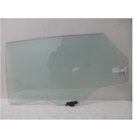 HYUNDAI i40 YF - 10/2011 to CURRENT - 4DR WAGON - LEFT SIDE REAR DOOR GLASS