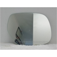 MITSUBISHI ASX - 7/2010 to - 5DR HATCH - DRIVERS - RIGHT SIDE MIRROR - FLAT GLASS ONLY - 186MM X 153MM