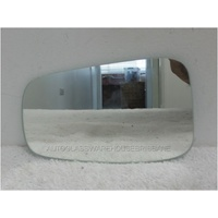 HYUNDAI i45 YH - 5/2010 to CURRENT - 4DR SEDAN - RIGHT SIDE MIRROR - FLAT GLASS ONLY (177 mm WIDE X 118mm HIGH)